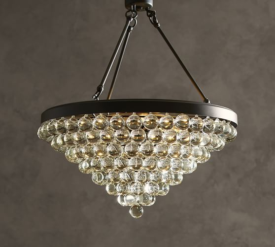 Pottery Barn Isabelle Chandelier: Callia Chandelier