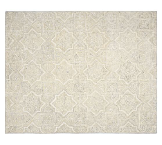 Why Adding A Rug Under Dining Table Sets Is A Must: Farrah Rug - Ivory