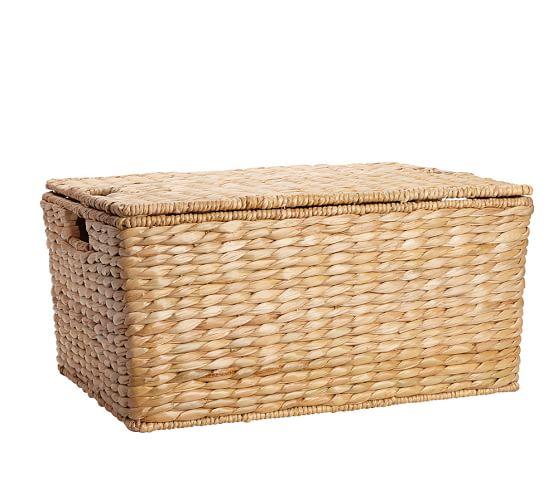 Savannah Lidded Basket, Large