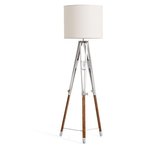 tripod floor lamp pottery barn. Black Bedroom Furniture Sets. Home Design Ideas