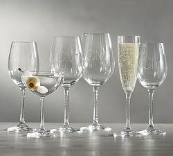 White Amp Red Wine Glasses Pottery Barn