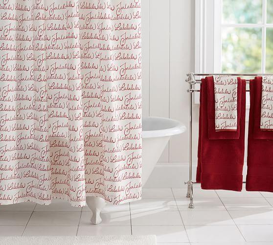 Fa La La Shower Curtain