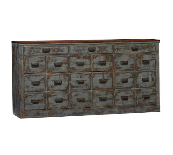 Pottery Barn Consoles: Clerk's Console Table