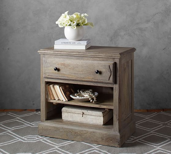 Linden Bed And Bedside Table Set Pottery Barn