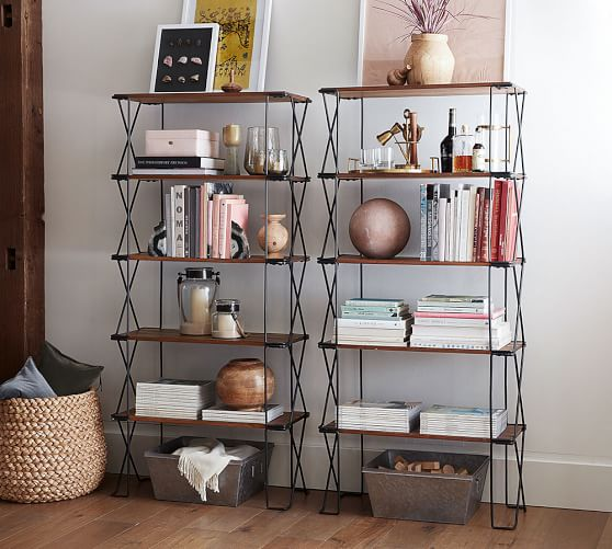 Dublin Stackable Shelving Unit Pottery Barn