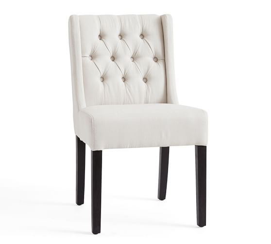Sorrel Tufted Upholstered Dining Chair Pottery Barn