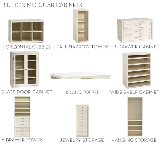 Modular Cabinets Living Room: Build Your Own - Sutton Modular Cabinets