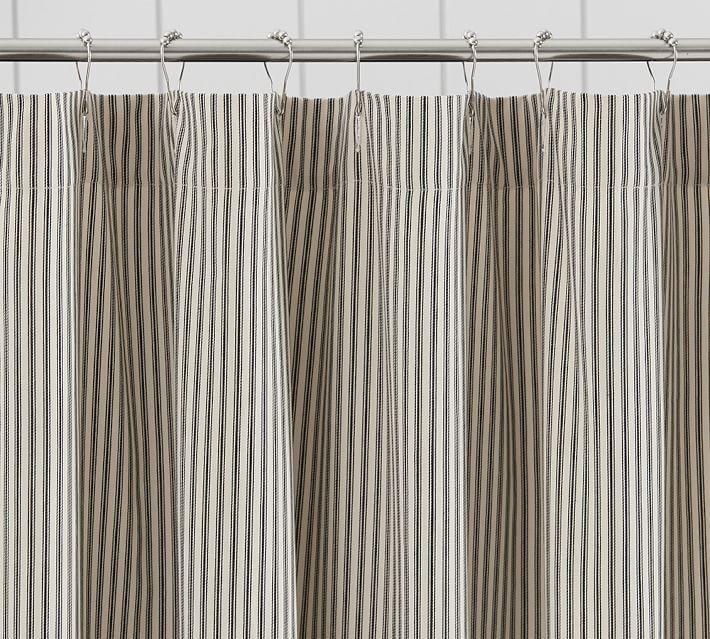 Waffleweave Shower Curtain | Pottery Barn
