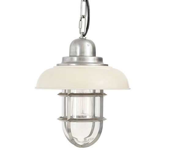 Pottery Barn Outdoor Pendant Lighting: Avalon Indoor/Outdoor Pendant
