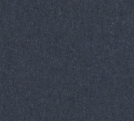 Fabric By The Yard, Recycled Cotton Denim Blue