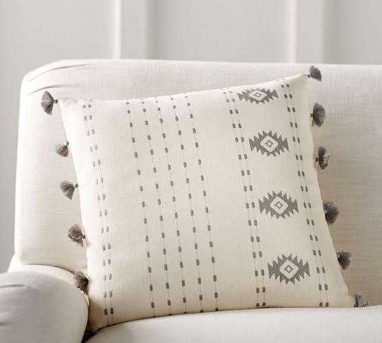 Satin Pillowcase Dublin: Cece Embroidered Pillow Cover