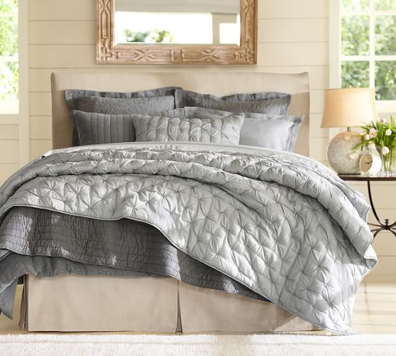 Isabelle Tufted Voile Quilt Amp Shams Pottery Barn