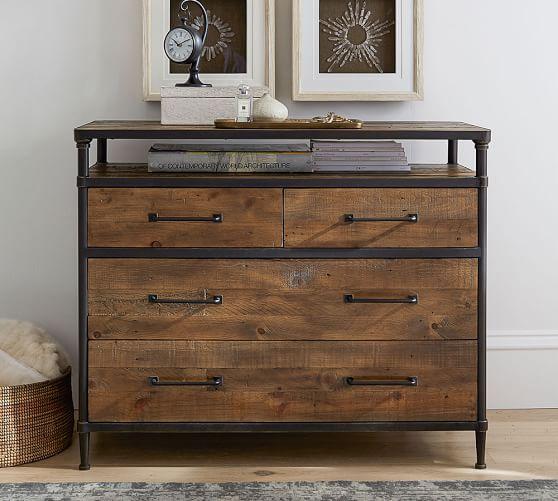 Juno Reclaimed Wood Dresser Pottery Barn