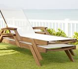 Hampstead Teak Stacking Single Chaise, Set of 2