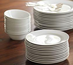 dinnerware sets dinner plates pottery barn