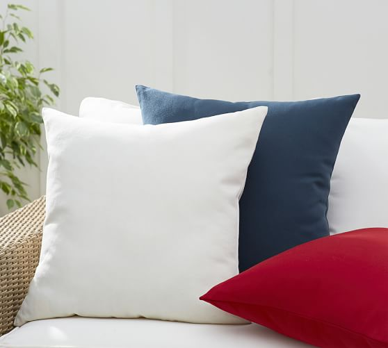 Monogrammable Indoor Outdoor Pillow Pottery Barn