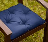 Universal Dining Cushion (Tufted) - Sunbrella® Cobalt