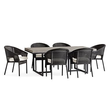 Sloan Dining Table Amp Black Palmetto Stacking Chair Dining