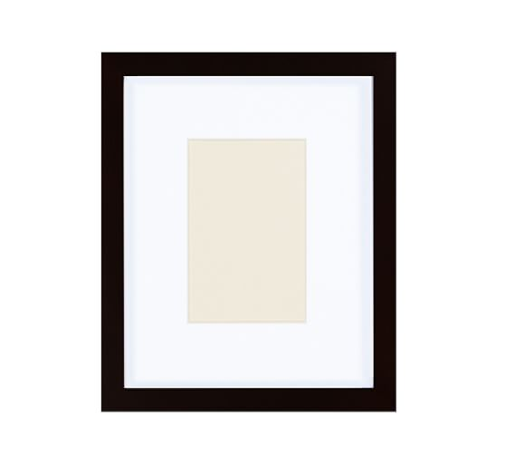 """Wood Gallery Picture Frame, 4 x 6"""", Black"""