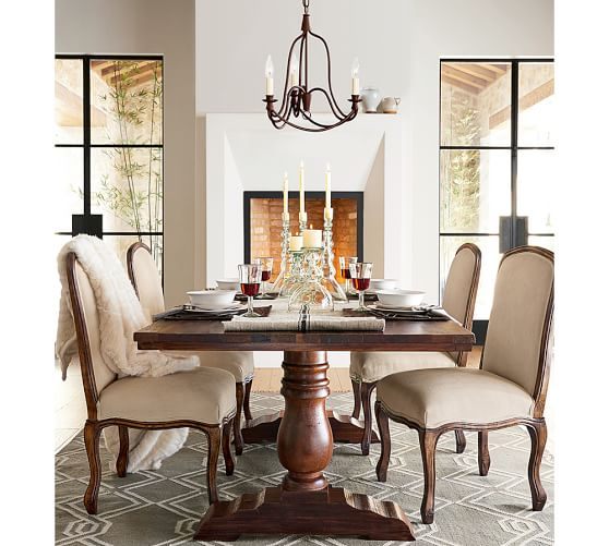 Pottery Barn Small Chandelier: Armonk 3-Arm Chandelier