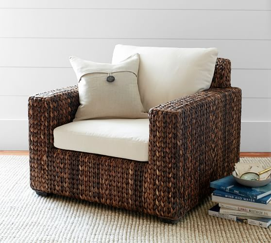 Seagrass Square Armchair
