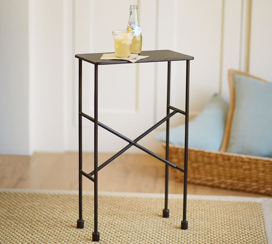 . Zane Accent Side Table   Pottery Barn