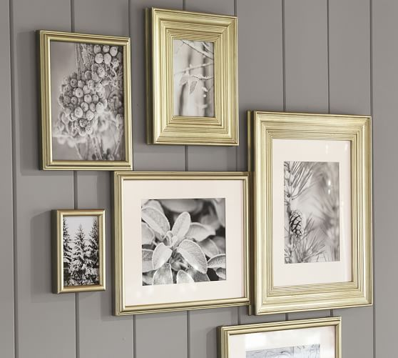 pb gilt frames pottery barn