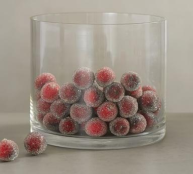 Sugared Cranberry Vase Filler Pottery Barn