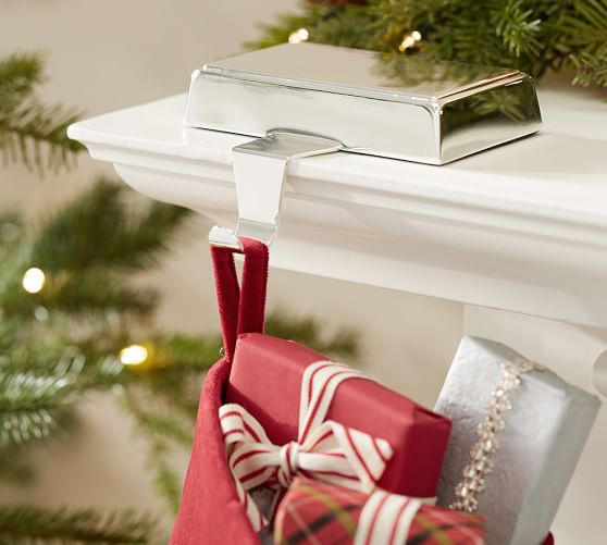 Engravable Simple Stocking Holder Pottery Barn