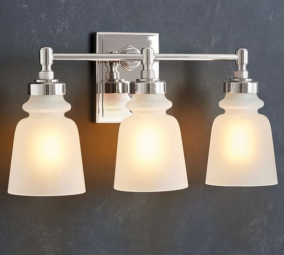 Triple Sconce Bathroom: Benchwright Triple Sconce