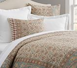 Selena Print Duvet Cover, Full/Queen, Multi