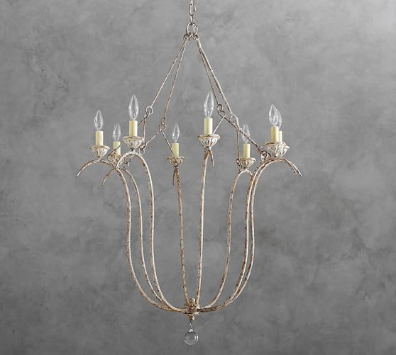 Pottery Barn Bellora Chandelier Reviews: Simone Chandelier