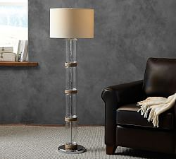 floor lamps standing lamps pottery barn. Black Bedroom Furniture Sets. Home Design Ideas