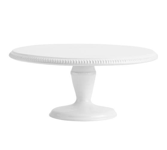 Gabriella Cake Stand, White