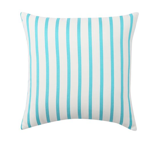 Sunbrella® Brice Stripe Indoor/Outdoor Pillow, 20