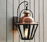 Case Sconce, Bronze & Antique Copper finish