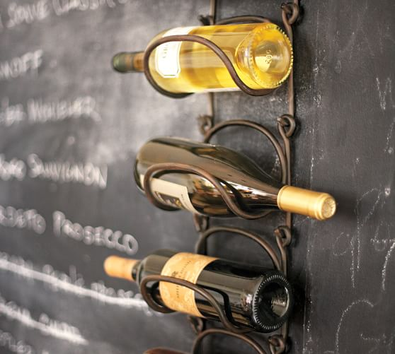 Singular Modular Iron Wine Rack