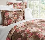 Olivia Bird Reversible Duvet Cover, Twin, Warm
