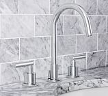 Exton Lever-Handle Widespread Bathroom Faucet, Chrome Finish