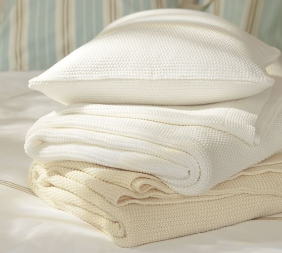 Fishermans Blanket, Twin, Ivory