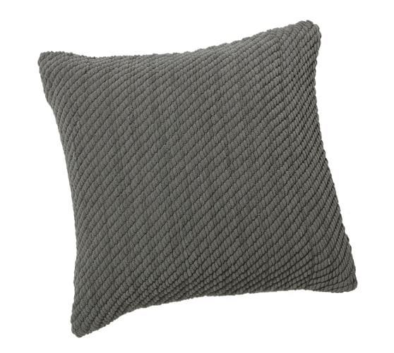 Grand Chenille Pillow Cover, 20