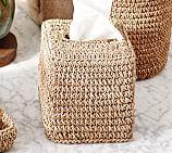 Crochet Weave Tissue Box Cover