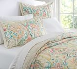 Bethany Paisley Wholecloth Voile Quilt, Twin