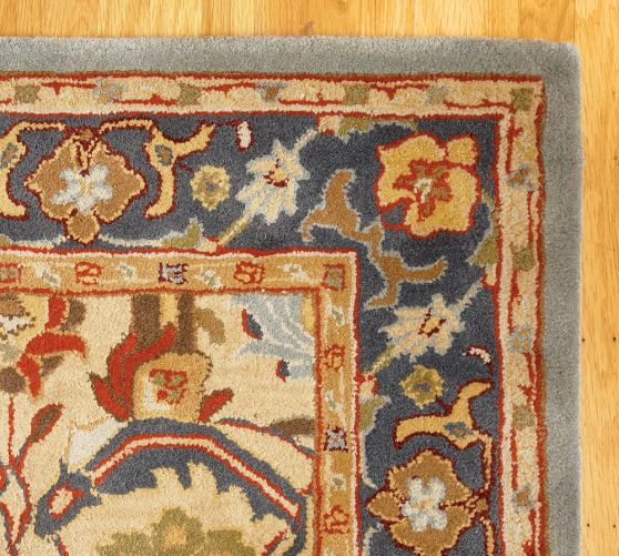 Pottery Barn Persian Rug Home Decor