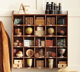 Cubby Organizer, Natural stain