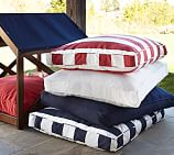 Sunbrella&#0174 Dog Bed Cover, Large, Solid Jockey Red