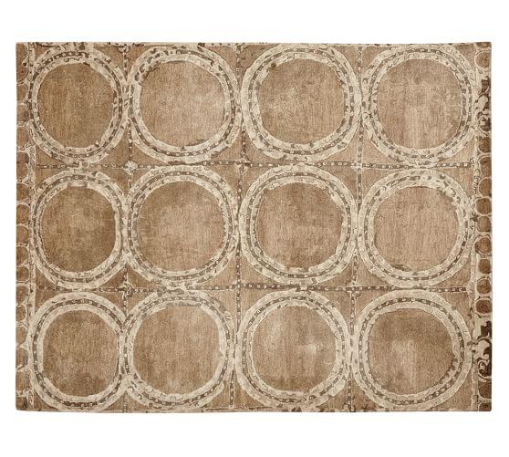 Hearst Tufted Wool Rug, 2.5x9', Neutral