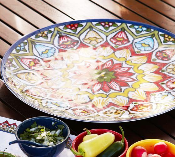 Talavera Melamine Platter