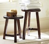 Colby Stools, Set of 2, Espresso stain
