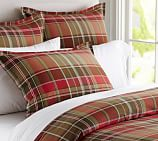 Tahoe Plaid Duvet Cover, Twin, Multi